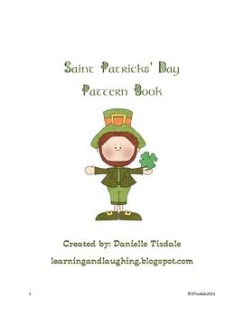 St. Patrick's Day Pattern Book