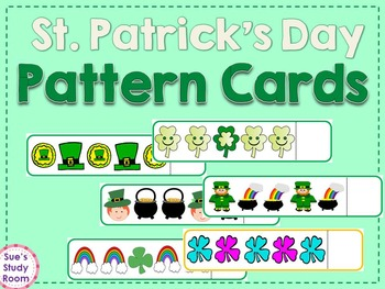 St. Patrick's Day: Pattern Cards
