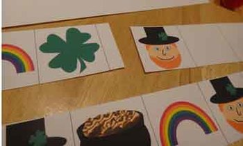 St. Patrick's Day Pattern Strips ABAB ABB AAB ABC