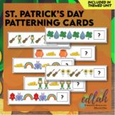 St. Patrick's Day Patterning Cards Set