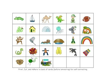 St. Patrick's Day Phonics - Matching Letters to Sounds
