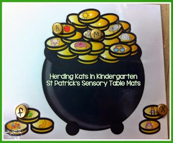 St. Patrick's Day Sensory Bin Mats