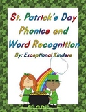 St. Patrick's Day Phonics and Word Recognition Card Sets