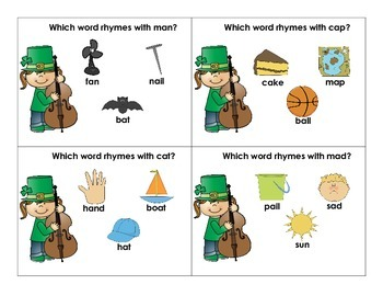 St. Patrick's Day Phonological Awareness Pack