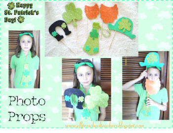 St. Patrick´s Day Photo Prop