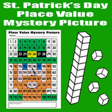 St. Patrick's Day Leprechaun Place Value Math Mystery Picture - 8.5x11