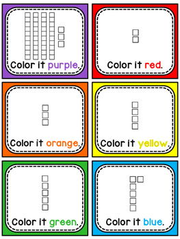 St. Patrick's Day Math Center Place Value 100 Chart Puzzle