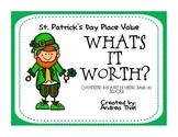 St. Patrick's Day Place Value