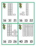 St. Patrick's Day Place Value Clip cards