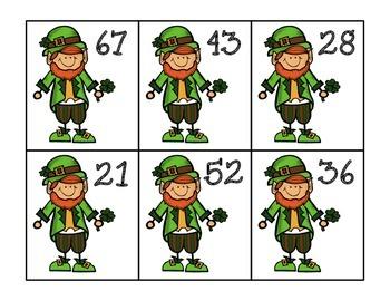 St. Patrick's Day Place Value Sort