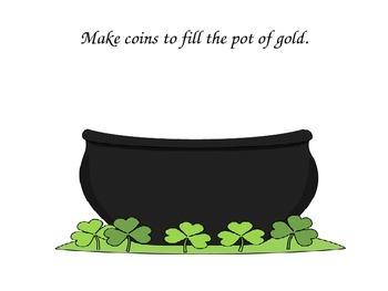 St. Patrick's Day Play Dough Mats/Play-Doh/Playdough FREEBIE
