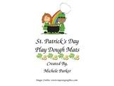 St. Patrick's Day Play Dough/Play-Doh/Playdough Mats