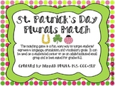 St. Patrick's Day Plurals Match