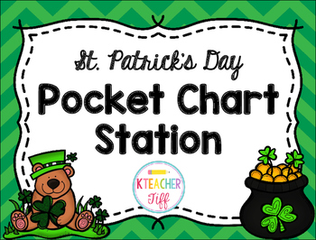 St. Patrick's Day Pocket Chart Sentence Builders {Freebie}