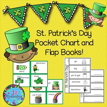 St. Patrick's Day Activities! Vocabulary and Flap Books!