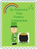 St. Patrick's Day Poetry Analysis Pack