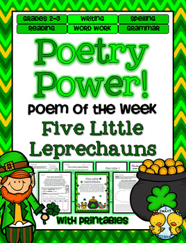 St. Patrick's Day Poetry Power! Daily Literacy Practice