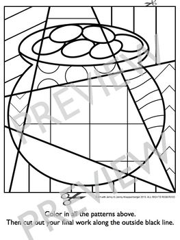 Interactive Coloring Pages