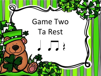 St Patrick's Day Post Office - A Bundle of 4 Games to Practice Rhythm