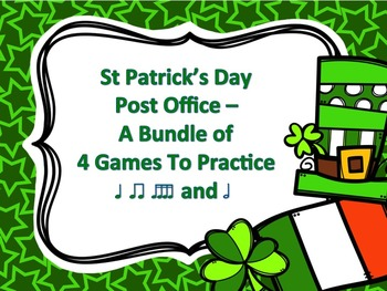 St Patrick's Day Post Office - A Bundle of 4 Games to Prac