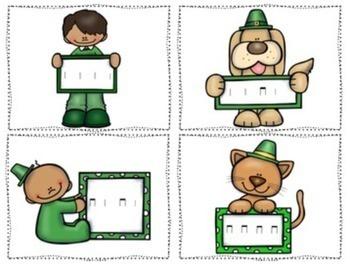 St. Patrick's Day Post Office Rhythm Set