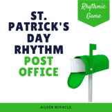 St. Patrick's Day Music Game: Post Office Rhythm Set