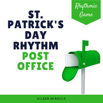 St. Patrick's Day Music Game: Post Office Rhythm Set