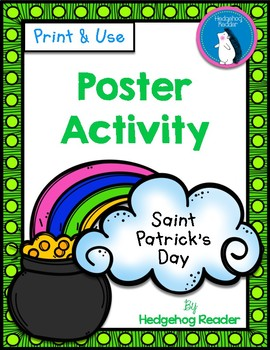 St. Patrick's Day Poster Activity