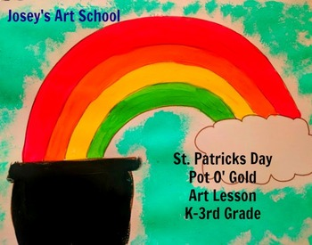 St. Patricks Day Pot O' Gold Art Lesson World History Lesson Project Discussion