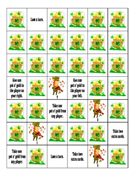 St. Patrick's Day: Pot O' Gold Game