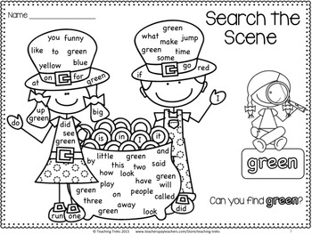 St. Patrick's Day Math Worksheets and Centres St Patrick's Day Literacy