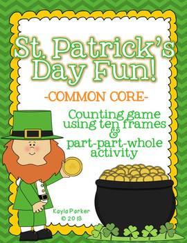 St. Patrick's Day - Pot of Gold Math Fun! COMMON CORE ALIGNED