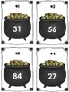 St. Patrick's Day Pot of Gold Ten More Ten Less Math Center (Common Core)