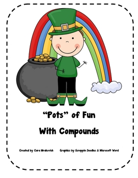 St. Patricks Day: Pots of Fun Compound Words