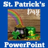 St Patricks Day | PowerPoint Activity | Kindergarten 1st 2
