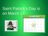 St. Patrick's Day PowerPoint for Special Ed: Boardmaker symbols