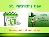 St. Patrick's Day Powerpoint and Activities