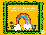 St. Patrick's Day Pre-K and K Activities