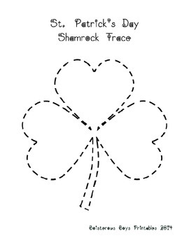 St. Patrick's Day PreK Printable Learning Pack