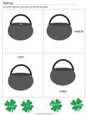 St. Patrick's Day Preposition Bundle