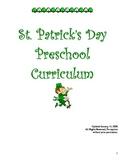 St. Patrick's Day Preschool / Kindergarten Curriculum