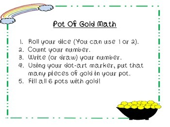 St. Patrick's Day Preschool Math