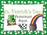 St. Patrick's Day Preschool Math