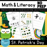 St. Patrick's Day Preschool Pack- 48 PAGES!