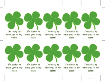 St. Patrick's Day Preschool Printables