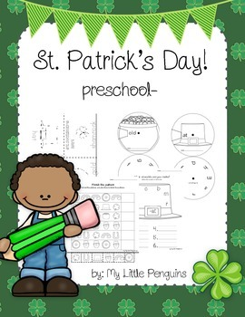 St Patrick's Day Preschool worksheets
