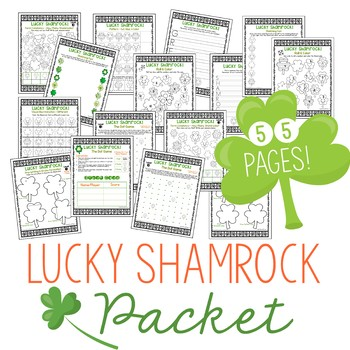 St. Patrick's Day Print & Go Packet!