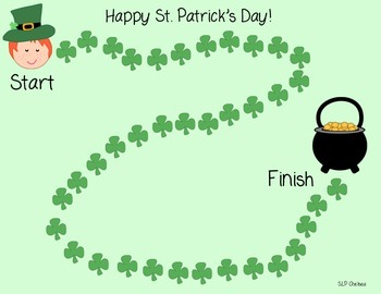 St. Patrick's Day Print 'n' Go Packet