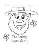 St. Patrick's Day Printable Leprechaun Book for Kindergarten