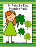 St. Patrick's Day Printable Pack